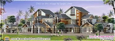 January   Kerala home design and floor plansLuxury house plan