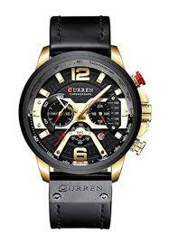 Buy <b>curren CURREN 8329 Mens</b> Watch Leather Luxury Brand ...