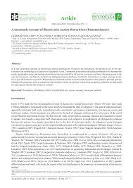 (PDF) A taxonomic account of Ranunculus section Batrachium ...