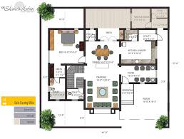 KRC Shantiniketan   Luxury Individual Bungalows Floorplan  Luxury    Ground Floor  First Floor