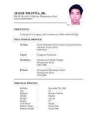 International Curriculum Vitae Resume Format for Overseas Jobs     Perfect Resume Example Resume And Cover Letter