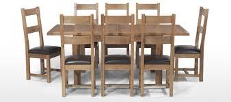 Light Oak Dining Room Furniture Krauses Continental Solid Light Oak Extending Dining Table Rustic
