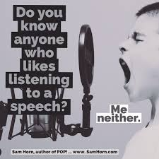 elevator speech archives sam horn know anyone who likes listening to a speech