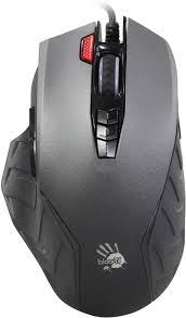 <b>Мышь A4Tech Bloody J95</b> Grey оптическая USB игровая купить в ...