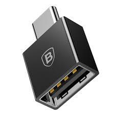 Переходник <b>Baseus Exquisite</b> Type-C х <b>USB</b> Чёрный