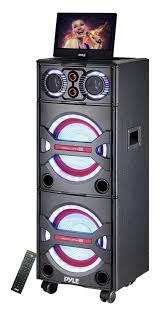 sound system wireless: amazoncom pyle pkrk bluetooth pa loudspeaker karaoke entertainment audio amp video system wireless mic home audio amp theater