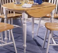 40 inch round pedestal dining table: round kitchen table with leaf arrowback double drop  inch