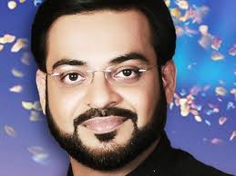 Dr. Aamir Liaquat Hussain. In 2002, he was elected to the national assembly and he affiliated with the party named as Muttahida Qaumi Movement. - Dr.-Aamir-Liaquat-Hussain