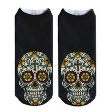 Unisex Skull Design Short <b>Socks</b> | Products | Ankle <b>socks</b>, <b>Socks</b> ...