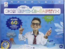 <b>набор для</b> опытов и экспериментов 1toy эксперементариум ...