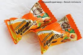 "<b>Конфеты</b> ""<b>Абрикос</b> в шоколаде с миндалём"" (""Самарский ..."