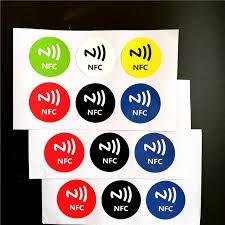 6Pcs/lot <b>13.5MHZ UID Changeable</b> MF <b>S50</b> 1K NFC Sticker Card ...