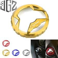 Motorcycle <b>Fuel Tank Cap Cover</b> Oil <b>Cover</b> For YAMAHA NMAX 155 ...