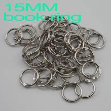 Wholesale Freeshipping <b>50 Pcs</b>/<b>lot</b> 15mm <b>Book</b> Hoop <b>Binding</b> Rings ...