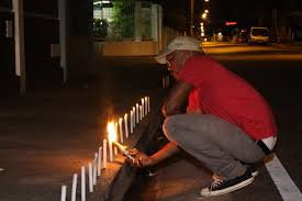 cheap clean richard rawlings lights candles for 9 of 219 performance night port of spain trinidad 2011 image courtesy of rodell warner and alice yard