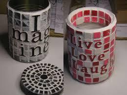 Resultado de imagen para manualidades con latas