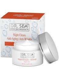 Dr. Sea / Антивозрастной <b>омолаживающий ночной</b> крем с ...