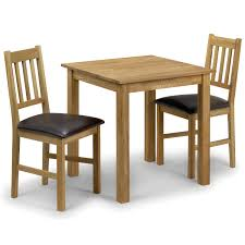 attractive furniture square dining table between two simple wooden chair on white floor oak pool attractive high dining