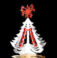 miniature christmas tree paper diy miniature christmas tree made of paper