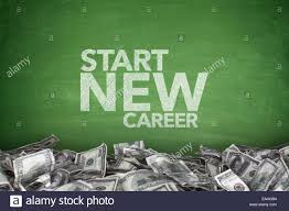 start new career on blackboard stock photo royalty image start new career on blackboard