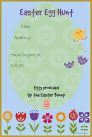 layered squares printable party invitation template printable easter egg hunt invitation template