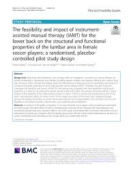 The feasibility and <b>impact</b> of <b>instrument</b>-assisted manual <b>therapy</b>