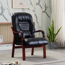 Brogan Orthopaedic <b>Armchair Faux Leather Black</b> - Fireside Chairs ...
