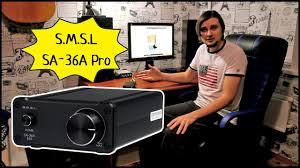 <b>S.M.S.L SA</b>-<b>36A</b> Pro Стерео HI-FI <b>УСИЛИТЕЛЬ</b> Для Дома ...