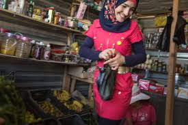 photo essay zaatari youths tackle child marriage   women amp girls  unfpa and jordans institute for family health young syrians like saba at the zaatari refugee camp are teaching others about the benefits of education
