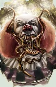 images about stephen king based art stephen digital drawing of the clown pennywise from the book it by stephen king