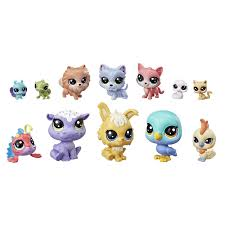 <b>Набор фигурок Hasbro Littlest</b> Pet Shop из 12 предметов ...
