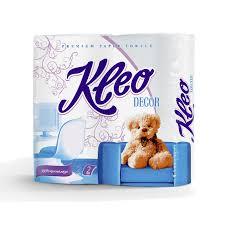 <b>Полотенца бумажные Kleo Decor</b> 2 рулона (С120) | ООО Тетра