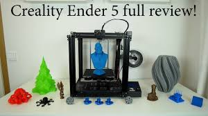 <b>Creality Ender 5</b> 3D printer review - Upgrades, fixes and Initial ...