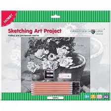 <b>GREENWICH</b> LINE <b>Наборы</b> для рисования и <b>творчества</b> купить в ...