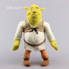 40cm Shrek Plush toys Doll Movies TV New Arrivals Peluche Large ...