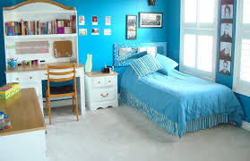 room cute blue ideas: teenage girl bedroom in blue interior design ideas lovely and cute girls room decorating ideas