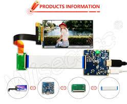 5.5 inch 2k LCD panel for DLP/SLA <b>3d printer</b> Model <b>KLD 1260</b> ...
