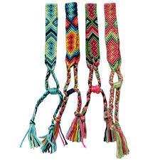 2019 <b>Bohemian Thread Bracelet Retro</b> Handmade Boho Multicolor ...