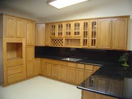 construction log home kitchen