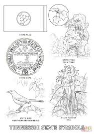 Small Picture Tennessee State Symbols coloring page Free Printable Coloring Pages