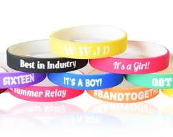 Custom <b>silicone bracelet</b> | Etsy