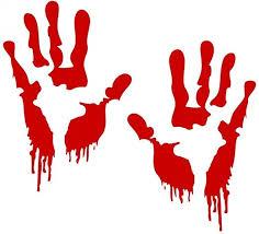 LKXHarleya <b>Halloween</b> Bloody <b>Hands</b> Car Vinyl Sticker Fun <b>Zombie</b> ...