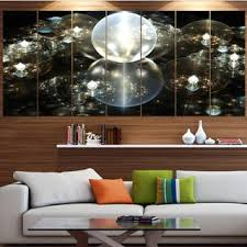 Shop Designart 'Golden <b>Water Drops</b> on Mirror' Abstract <b>Wall Art</b> on ...