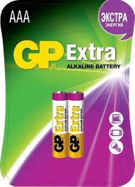 Купить <b>Батарейки GP Extra AAA</b> (2 шт) по выгодной цене в ...