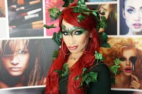 special poison ivy make up tutorial