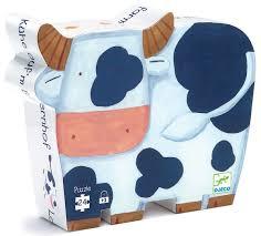 Djeco <b>Пазл</b> для малышей <b>Коровы на ферме</b> — купить в интернет ...