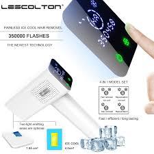 Lescolton T012C <b>4in1 IPL</b> Epilator Hair Removal LCD Display ...