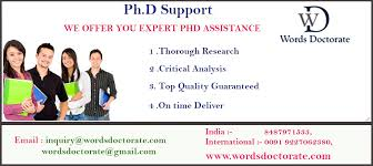PhD Thesis and Dissertation Services  Become Doctorate of your field    PhD Thesis Writing  Dissertation Writing  Research Paper Writing