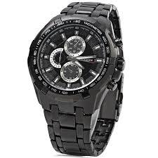 <b>CURREN 8023 Men</b> Quartz Watch Black Quartz Watches Sale, Price ...