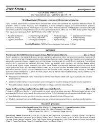 resume examples resume objective for law enforcement best sample legal resume format